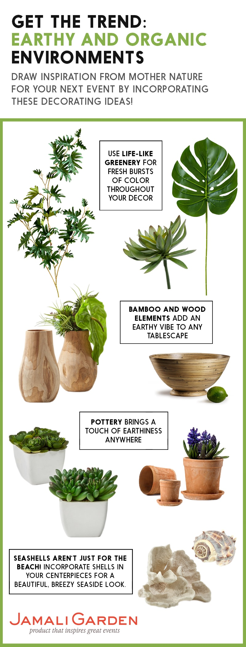 Earthy and Organic Decorating Trends