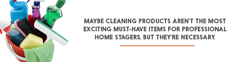 Items Home Stagers Should Have