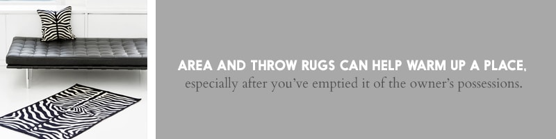 Rugs for Home Staging