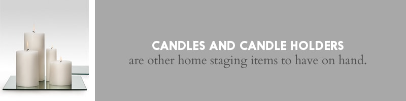 Candles for Home Staging