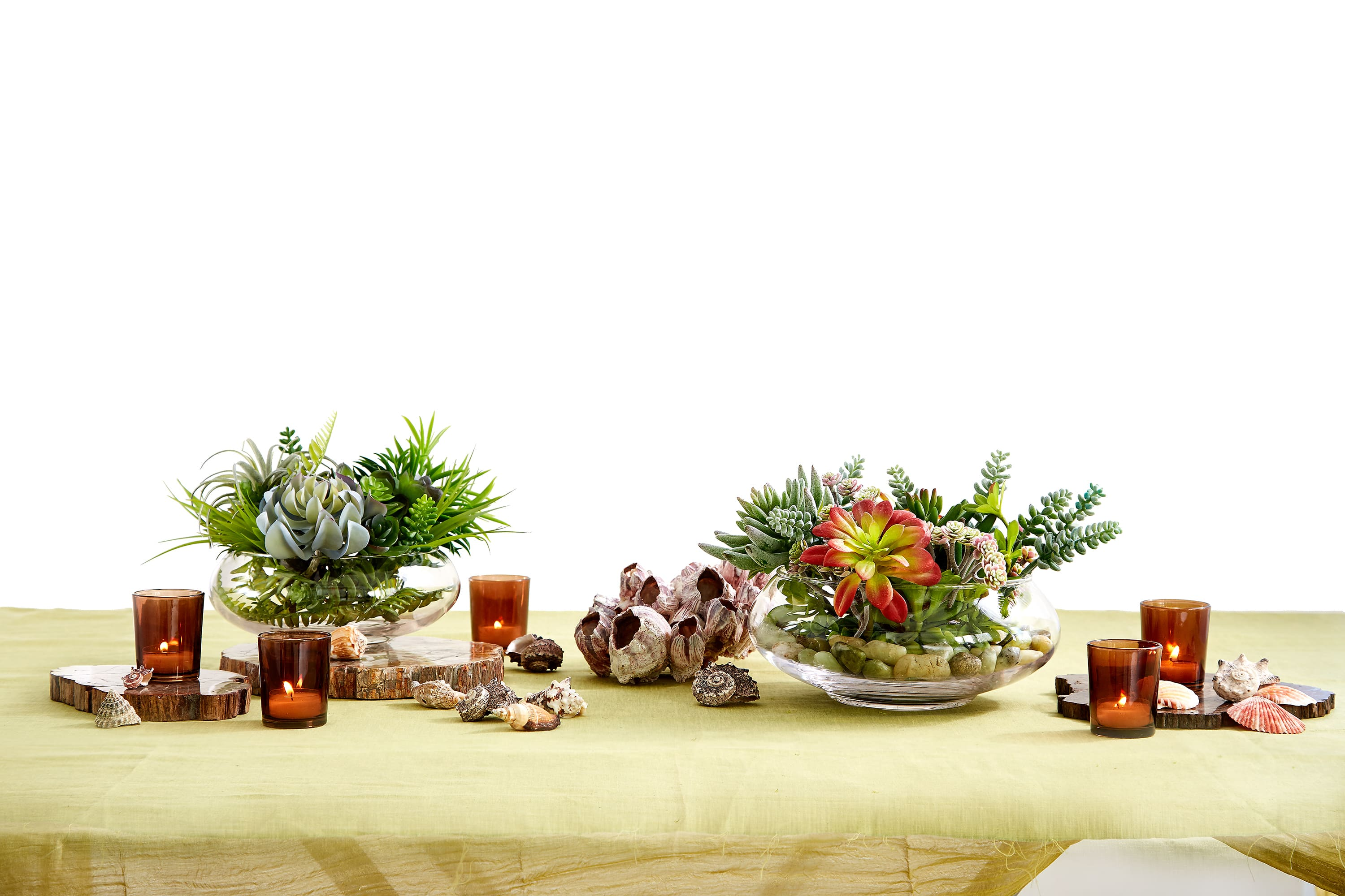 4 Long Table Centerpiece Ideas Great For Rectangular Tables The