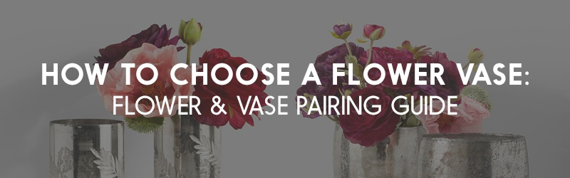 Flower and Vase Pairing Guide