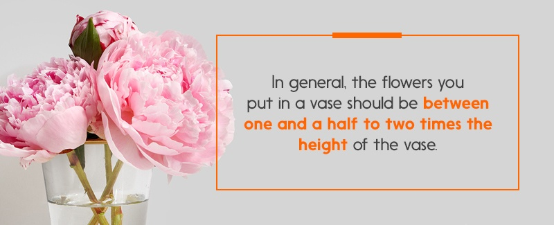 How Tall Should Flowers Be