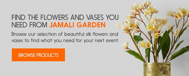 Find Flowers and Vases for Events