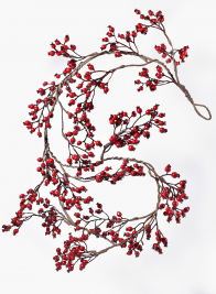55in Red Berry Garland