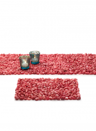 Pink Stone Runner & Placemat