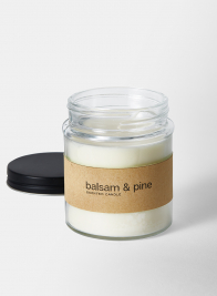 Balsam & Pine Scented Candle