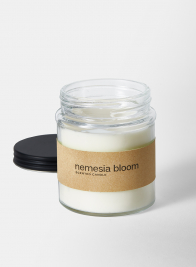 Nemesia Bloom Fragrance Ivory in Clear Glass