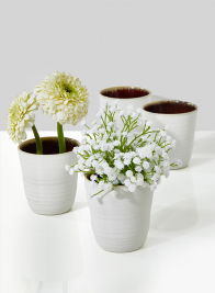 3in Stoneware Cup, Set of 2