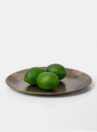 limes metal round tray