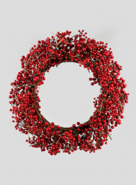 28in Red Berry Wreath