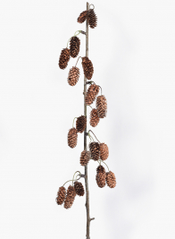 38in Pine Cone Garland