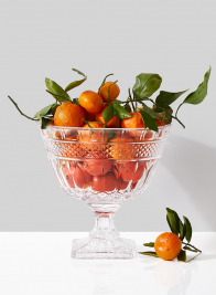 10in Large Classic Glass Compote