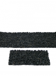 60in Polished Black Stone Runner