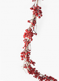 Red Berry Holiday Garland