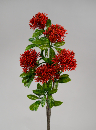 35in Red Jungle Flame Spray