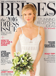 brides magazine april may 2016 cover