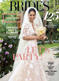BRIDES magazine june july 2018