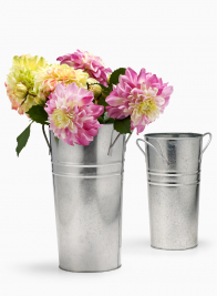 Zinc French Vases With Round Handles