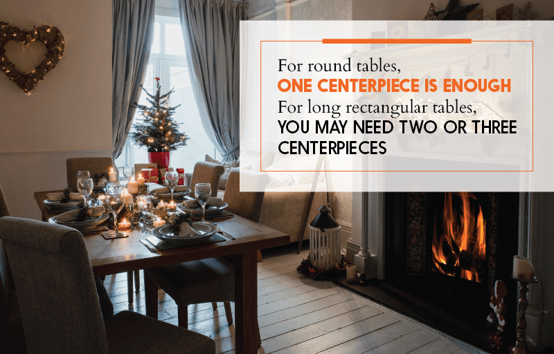 Centerpiece Tips for Christmas Party